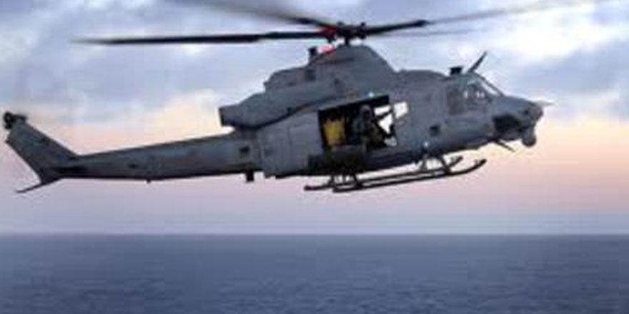 Mısır ordusu, Akdeniz'de düşen helikoptere ulaşıldığını duyurdu