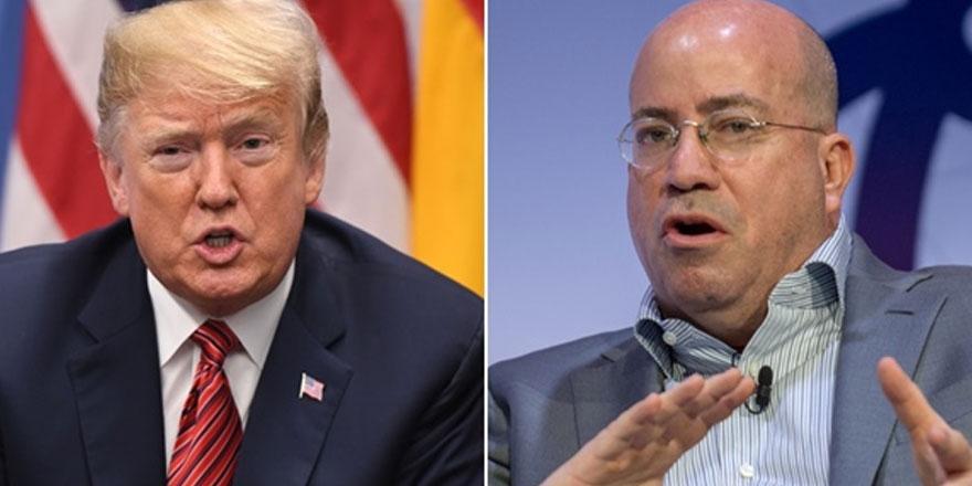 """CNN'in başkanından """"Trump'ın azline odaklanın"""" talimatı"""