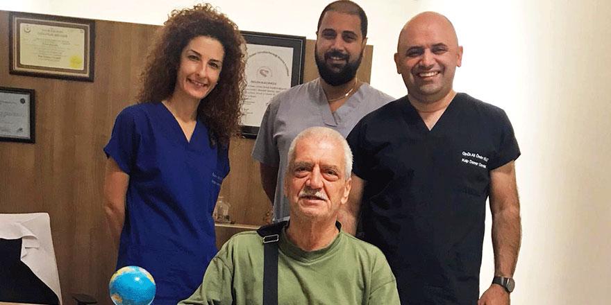 Yapay Kalp Nakli Ülkemizin Tanınmış Simalarından Girne Con Kahve Sahibi Çetin Şadi'yi Yaşama Bağladı
