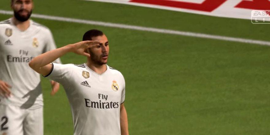 Çok tartışılan asker selamı FIFA 19'da da var!