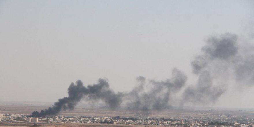 Tel Abyad ve Resulayn'da terör mevzileri vuruluyor…
