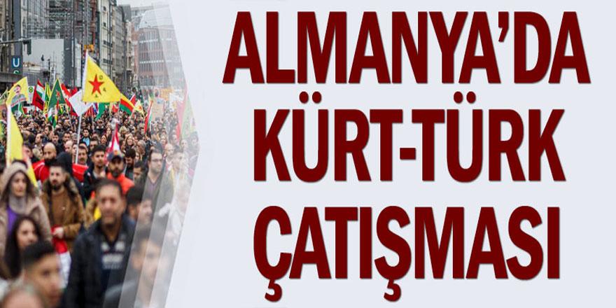 Almanya'da Kürt-Türk çatışması