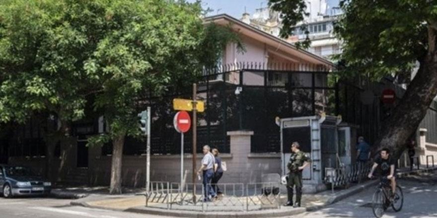 Yunanistan'da Türk Başkonsolosluğuna saldırı