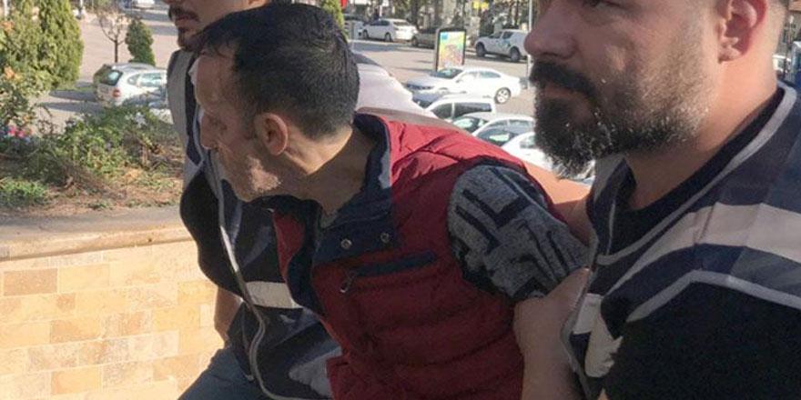 Yüz nakli ile tanınmıştı... Recep Sert, silahlı saldırıdan tutuklandı