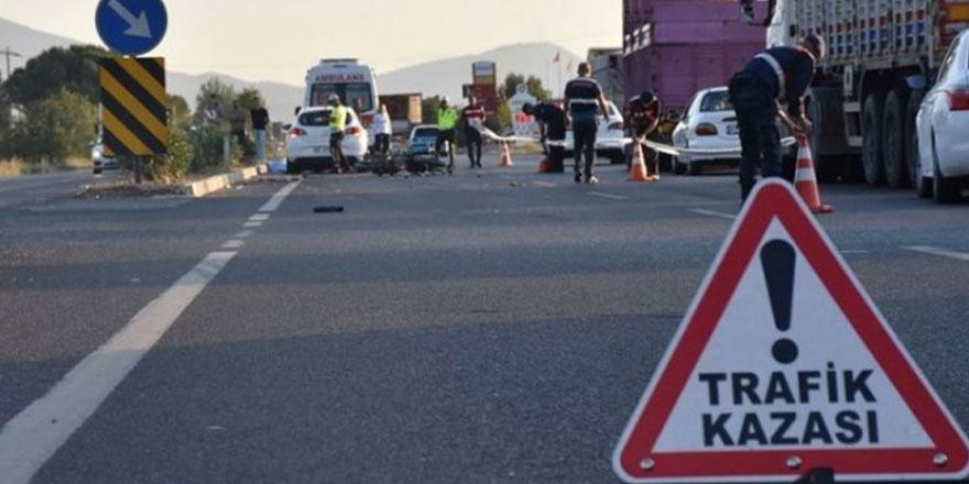 KKTC'de bu hafta 64 trafik kazası meydana geldi