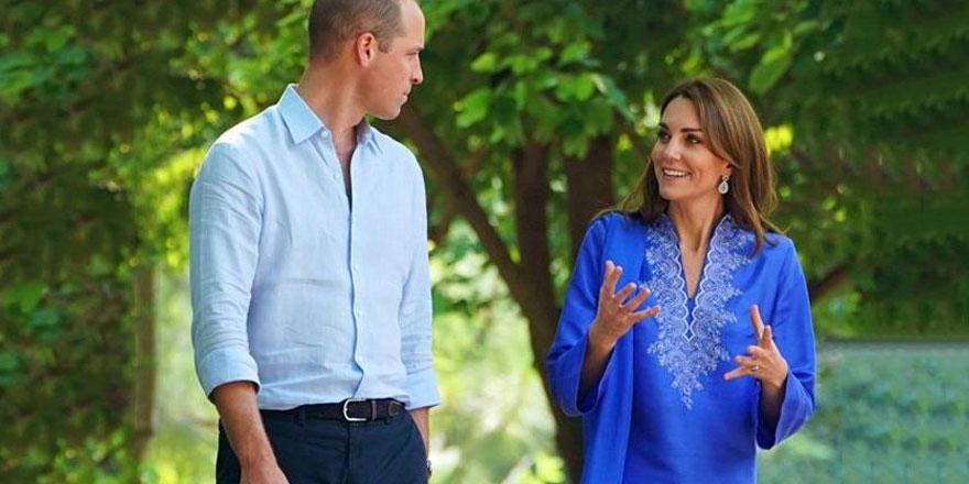 Kate Middleton ve Prens William uçak yolculuğu sırasında büyük tehlike atlattı