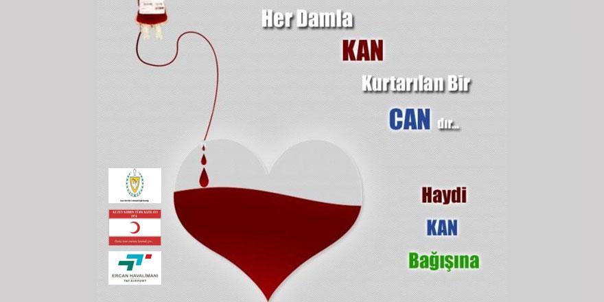 T&T Ercan Havalimanı işletmeciliği, kan bağışı kampanyası düzenliyor