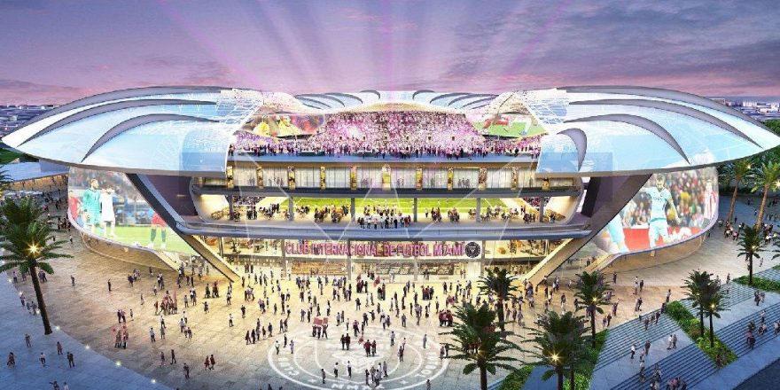 David Beckham'ın kulübü Inter Miami'nin 970 milyon Dolar'lık yeni stadyumu büyülüyor!