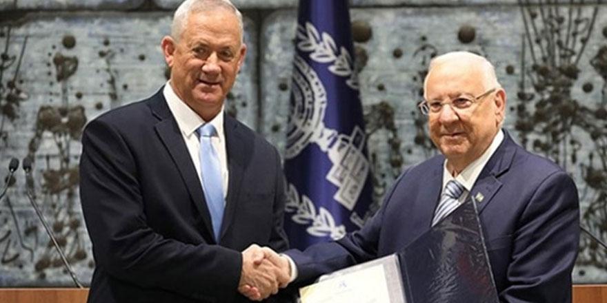 İsrail'de Hükümeti Kurma Görevi Gantz'ın