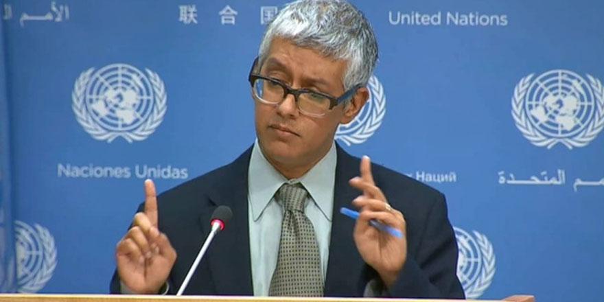 """BM Genel Sekreteri Sözcü Yardımcısı: """"Lute taraflarla görüşüyor.. Gelişmeler iyi"""""""