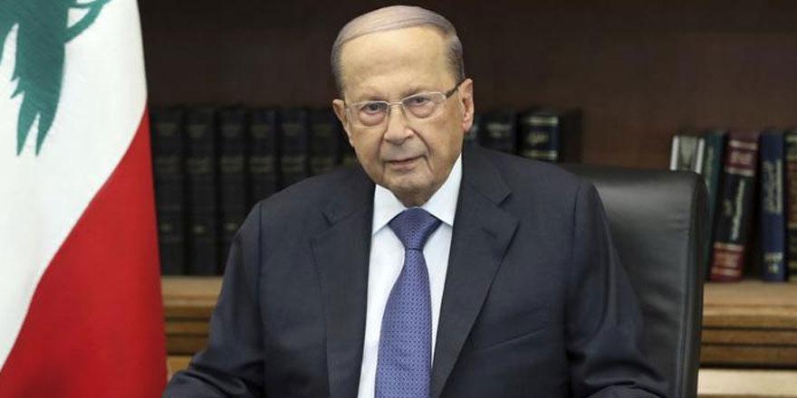 Lübnan Cumhurbaşkanı'ndan göstericilere davet