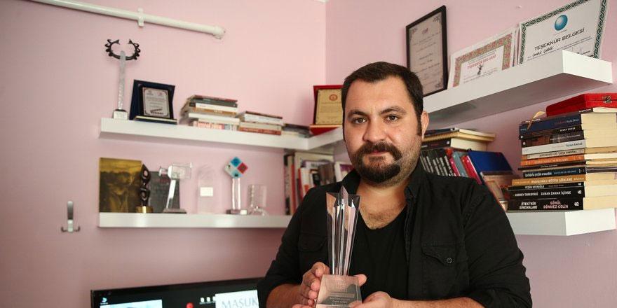 Hollywood, Cevahir Çokbilir'in aldığı ödülü kargo ile gönderdi