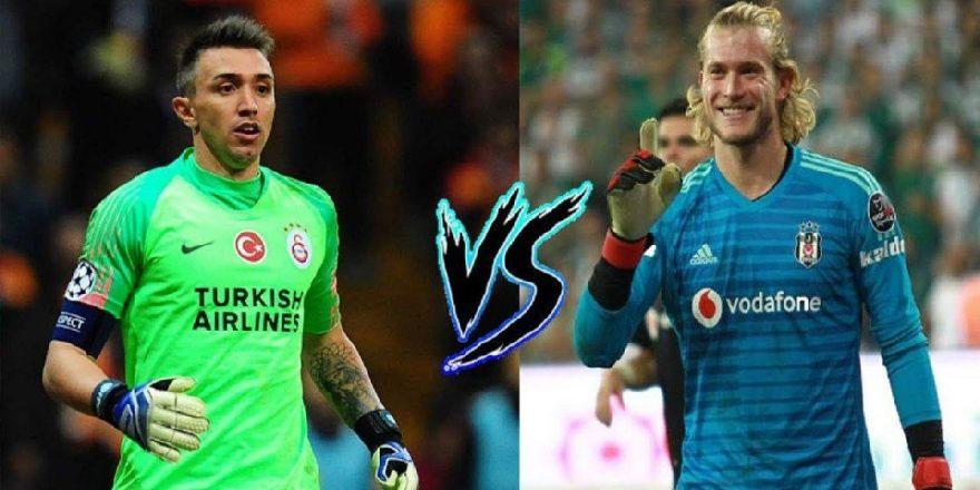 Beşiktaş-Galatasaray derbisinde kilit isimler; Muslera ve Karius!