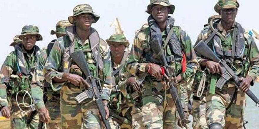 Nijerya ordusuna Türk üniforması
