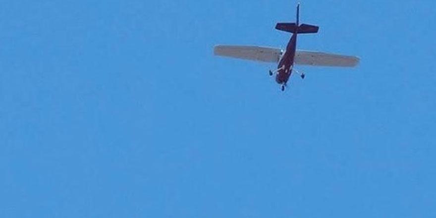 ABD'de küçük uçak düştü..