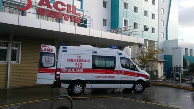 Sonunda ambulansı da çaldılar