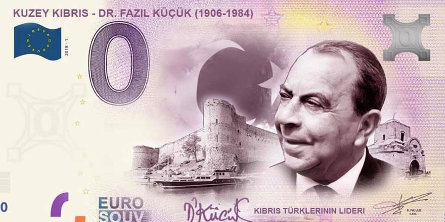Kipe Dr. Fazıl Küçük anı paralarını Avrupa Merkez Bankası'na sordu