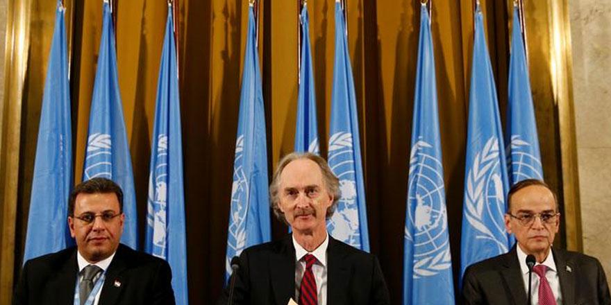 Suriye Anayasa Komitesi Cenevre'de toplandı