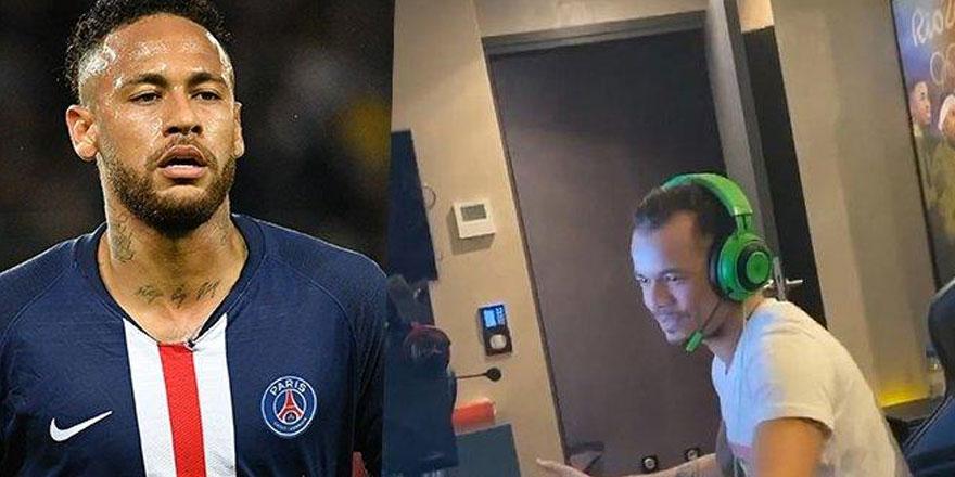 Neymar, kız kardeşini terk eden Gabigol'ü posterden böyle sildi!