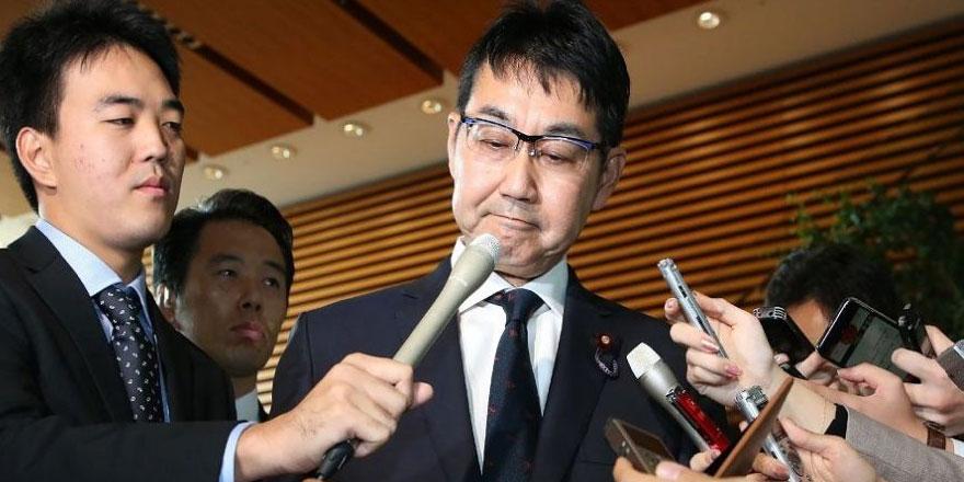 Japonya Adalet Bakanı Kavai istifa etti
