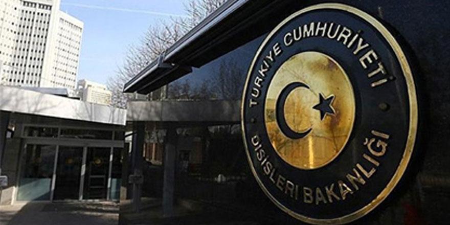 Türkiye'den Fransa'ya kınama