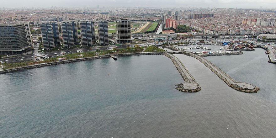 Marmara Denizi'ne çamur aktı