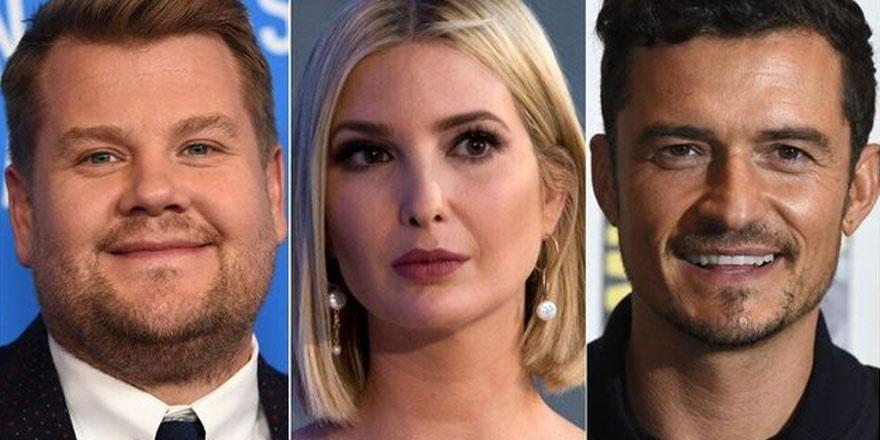 Hollywood yıldızları içip içip Ivanka Trump'ı nasıl sıkıştırdı