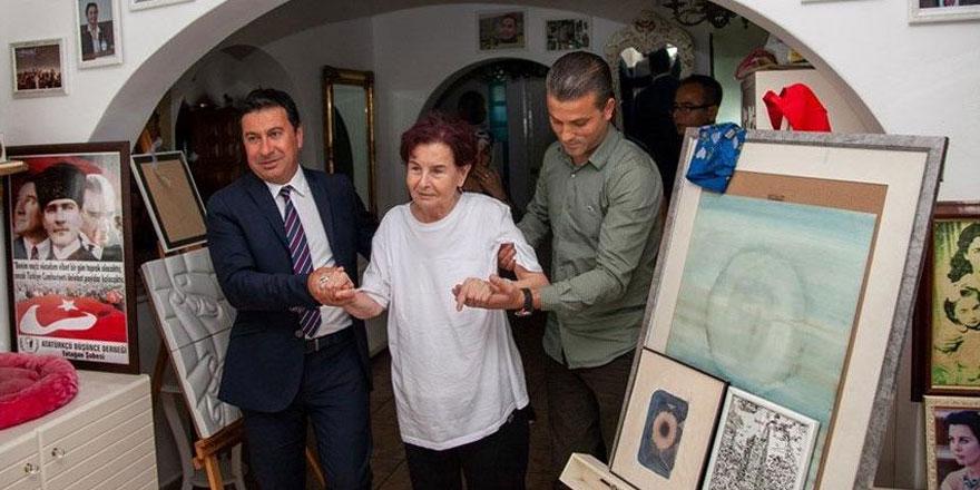 Fatma Girik Bodrum'daki evine döndü