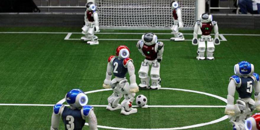 'Nao'lar geliyor: Robot futbolcular 2050'de insanlarla karşılaşacak