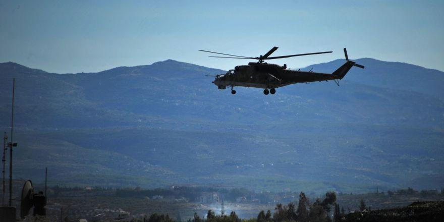 Rus helikopterleri Suriye'nin kuzeyinde her gün devriye yapacak