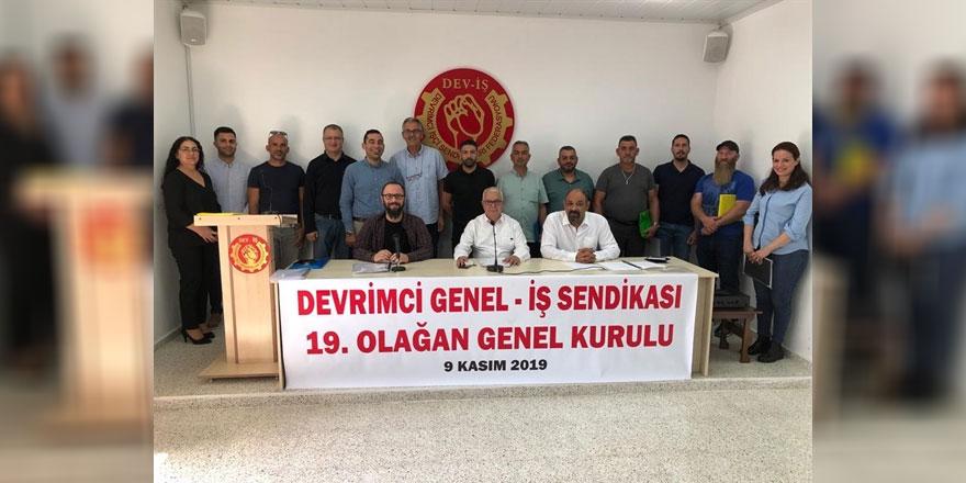 DEV-İŞ''in 19. Olağan Genel Kurul toplantısı gerçekleştirildi