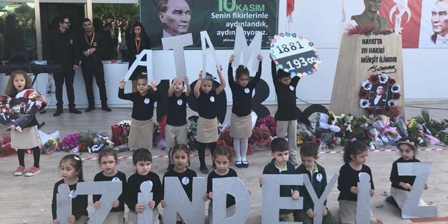 Girne Doğa Internatıonal School Ulu Önder Mustafa Kemal Atatürk'ü Andı