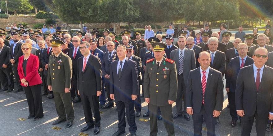 Gazimağusa'da Atatürk için anma töreni düzenlendi