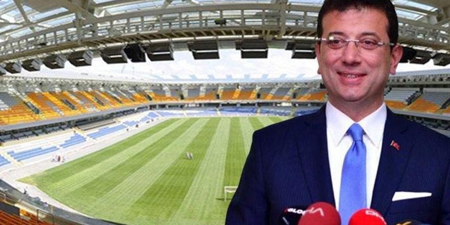 Ekrem İmamoğlu geldi, Fatih Terim Stadyumu Bakanlığa devredildi