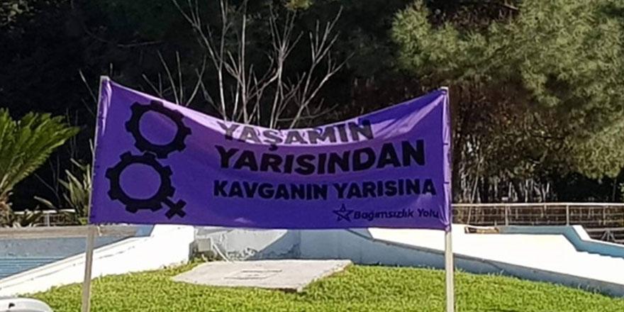 Bağımsızlık yolu Girne örgütü'nden 25 kasım kadına yönelik şiddete karşı mücadele günü için bölge örgütlerine çağrı