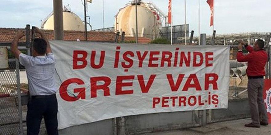 Petrol-İş süresiz grevde