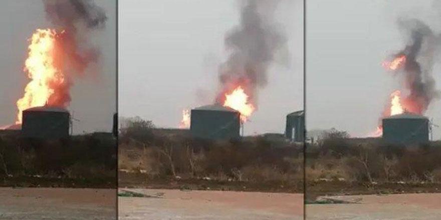 Dev fabrikada korkutan yangın