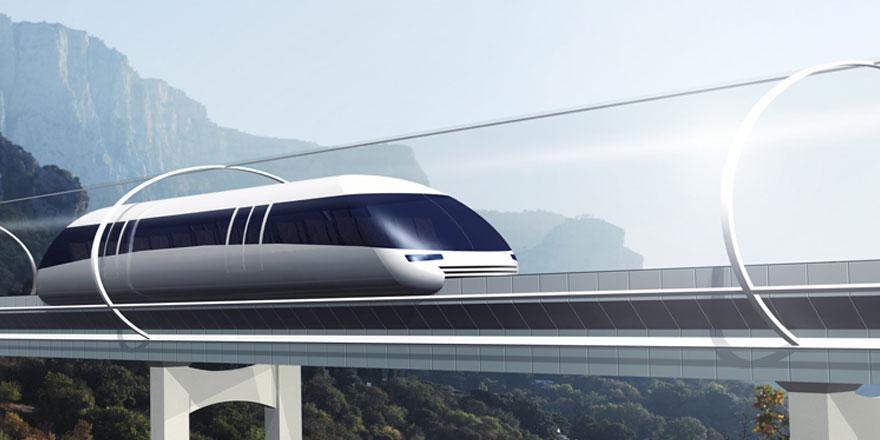 Ulaşımın geleceği olarak lanse edilen Hyperloop kapsülü tanıtıldı