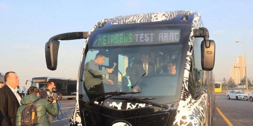İmamoğlu yeni nesil yerli metrobüs testinde