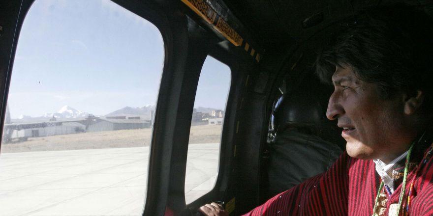 Morales, ay başındaki helikopter arızası hakkında konuştu: Suikast girişimi olduğundan kuşkum yok