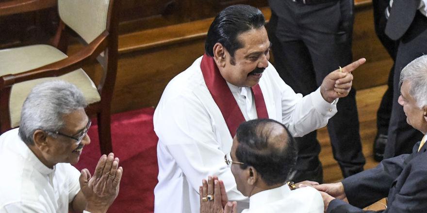 Sri Lanka Cumhurbaşkanı, kardeşini geçici başbakan olarak atadı