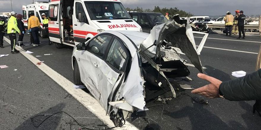 Feci kaza: 1 ölü, 2 ağır yaralı