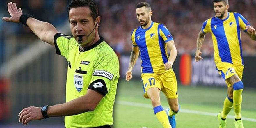Rumlar Türk hakeme itiraz etti, UEFA kabul etti