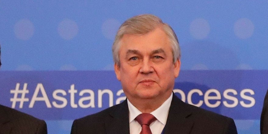 Lavrentyev: Rusya ve Türkiye, Suriye'nin kuzeyindeki güvenli bölgeyi genişletme niyetinde değil