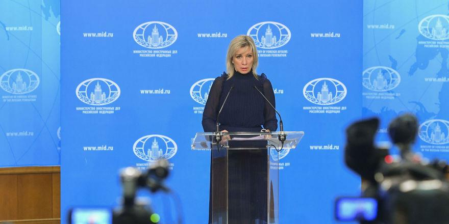 Zaharova: Rusya ve Türkiye, Soçi mutabakatını uygulamaya devam ediyor