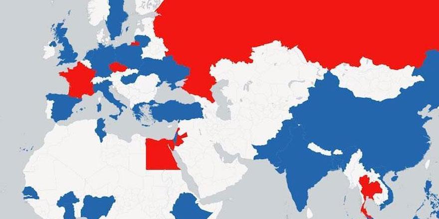 Dünyanın en güçlü ülkeleri listesi açıklandı...