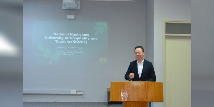 Tayvan Natıonal Koahsıung Üniversitesi Öğretim Üyesi Daü'de Seminer Verdi