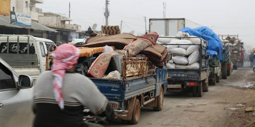 BM: 350 bin Suriyeli Türkiye'ye doğru kaçtı