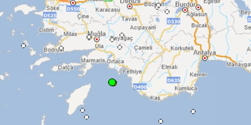 Üst üste deprem haberleri