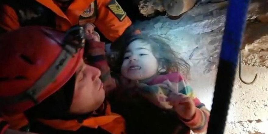 Yüsra bebek ve annesini kurtaran Yüzbaşı Yusuf Mataracı, o anları anlattı